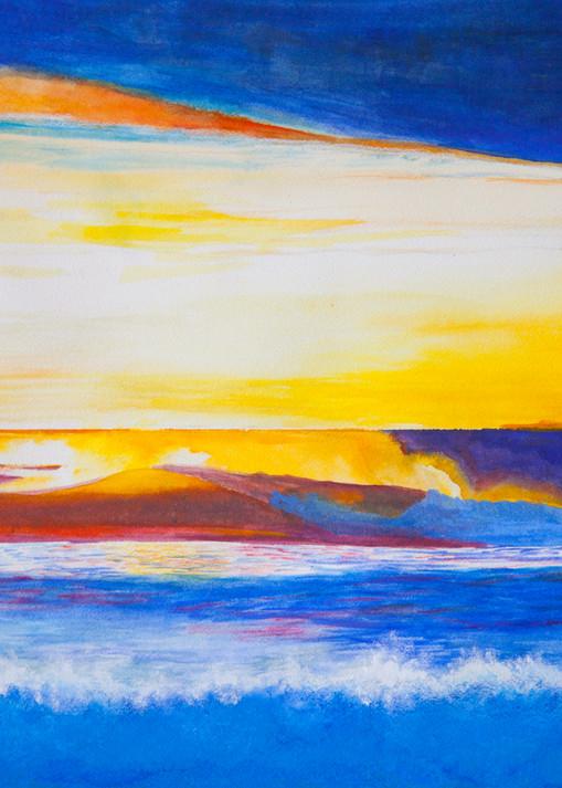 Dawn Patrol  Art   CruzArtz Fine Arts