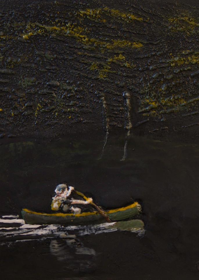 Paddling Solo Art | Bruce Tyner