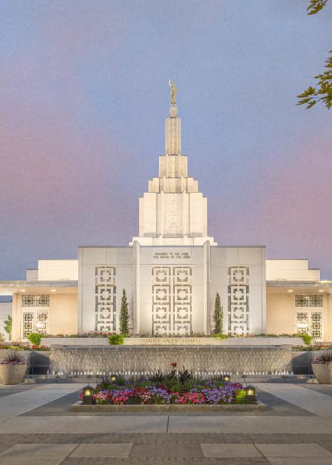 Idaho Falls Idaho Temple - A House of Peace