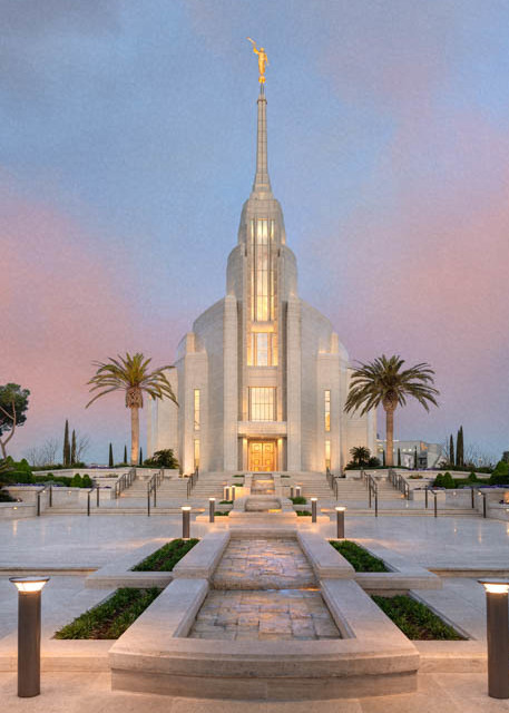 Rome Italy Temple - A House of Peace