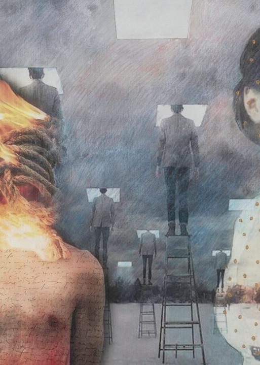 Burning Bodies Art | Mediterranean Fire inc.