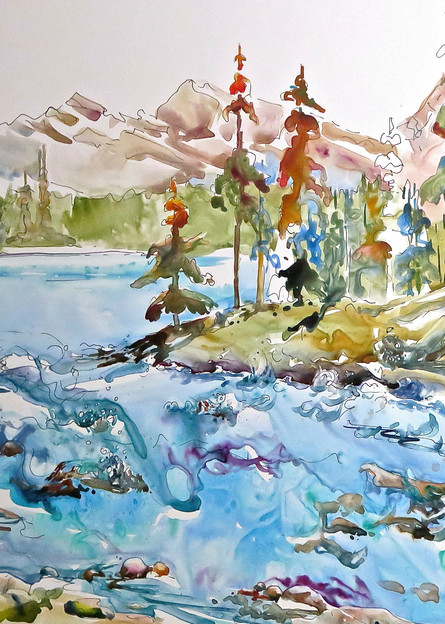 At The Edge Art | Karen Bishop Artist