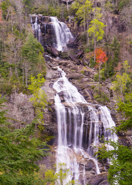 Whitewater Falls Art   Drew Campbell Photography