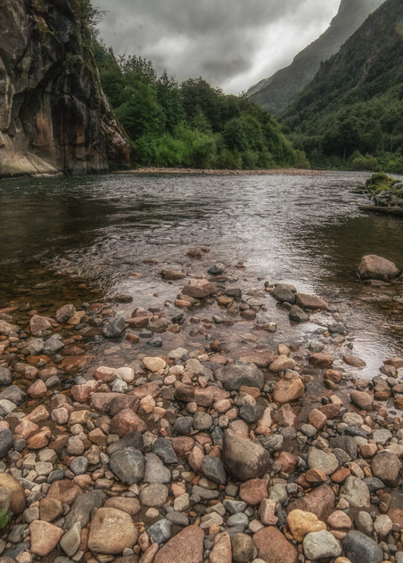 Patagonia Creek Art | Drew Campbell Photography
