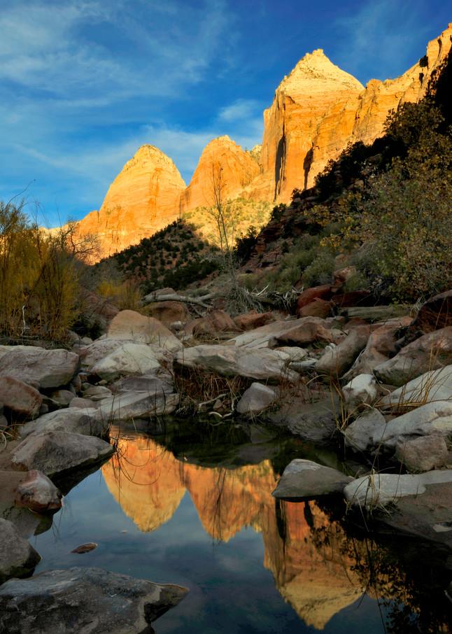 Virgin River Reflection Photography Art | Craig Primas Photography