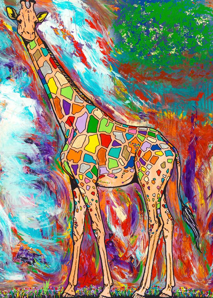 A Higher Power | Girafe Art | JD Shultz Art