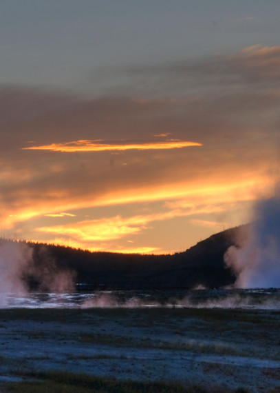 Sunset In Yellowstone Art | Drew Campbell Photography