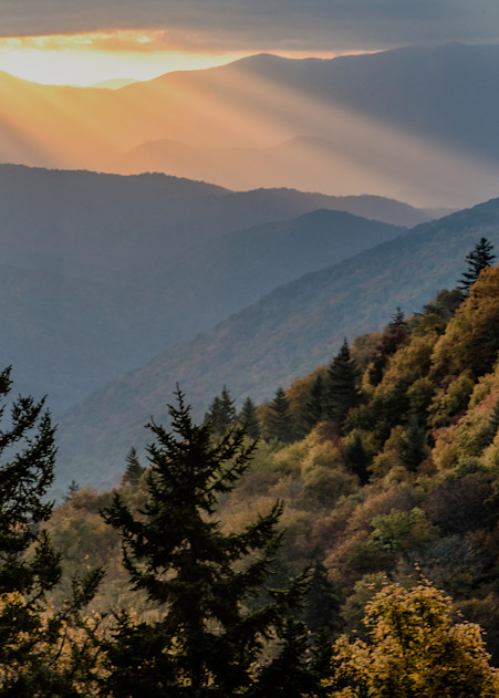 Smoky Mountain Vista Art   Drew Campbell Photography