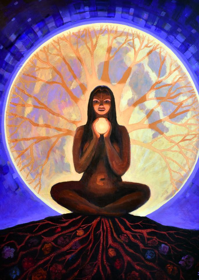 Shanti Luna, art by Jenny Hahn