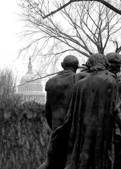 Philosophers & Capital Dome Photography Art | Peter Welch