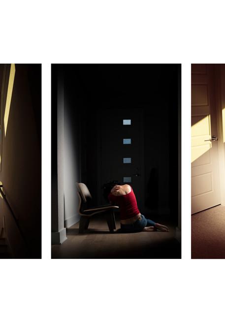 Detached - Abstract Portrait Photography - Fine Art Print by Silvia Nikolov