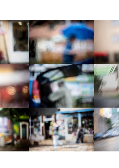 Streets - Abstract Street Photography - Fine Art Print by Silvia Nikolov