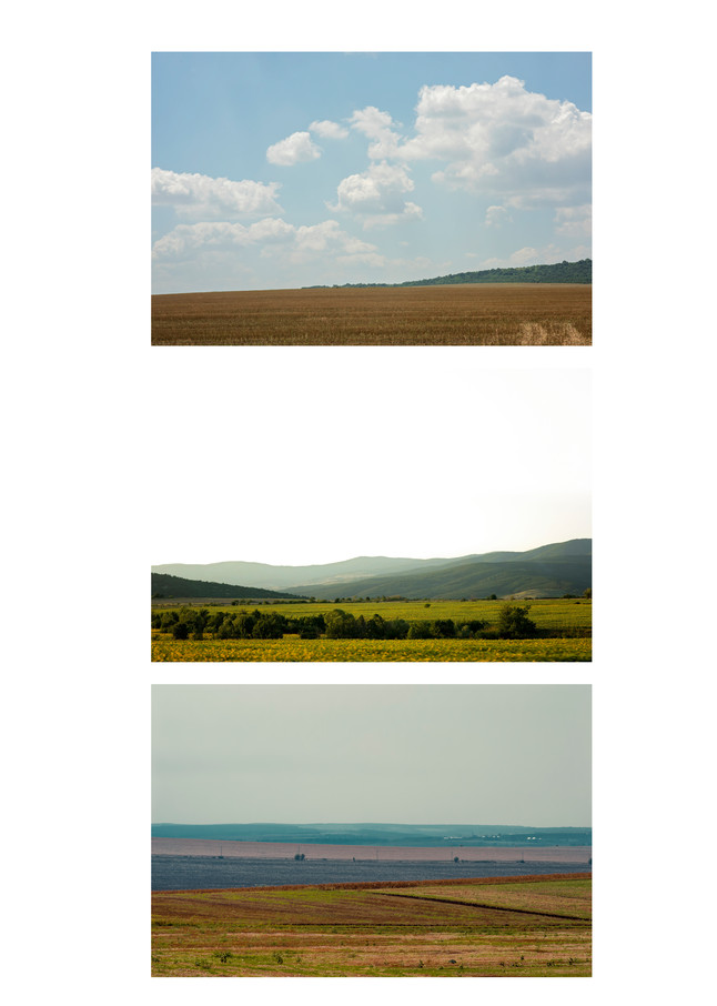 Landscapes I - Abstract Landscape Photography - Fine Art Print by Silvia Nikolov
