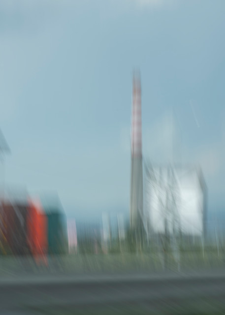 Moments On the Road #6 - Abstract Street Photography - Fine Art Print by Silvia Nikolov