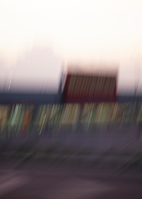 Moments On the Road #11 - Abstract Street Photography - Fine Art Print by Silvia Nikolov