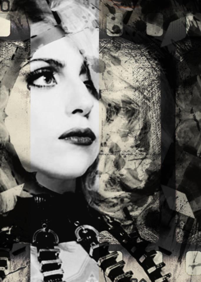 Lady Gaga No. 1, 2019 by artist Carolyn A. Beegan