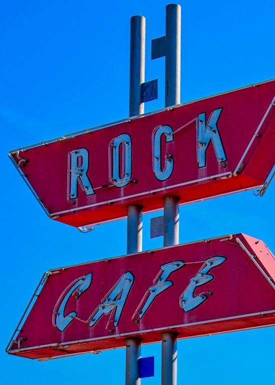 Rock Cafe sign