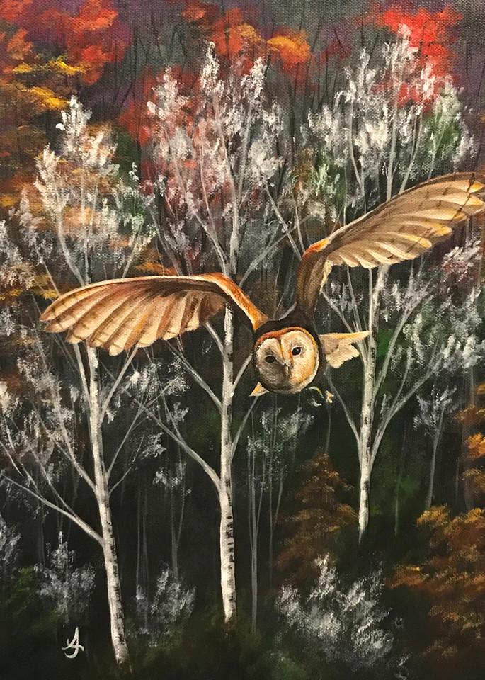 Silent Flight Art | alanajudahart
