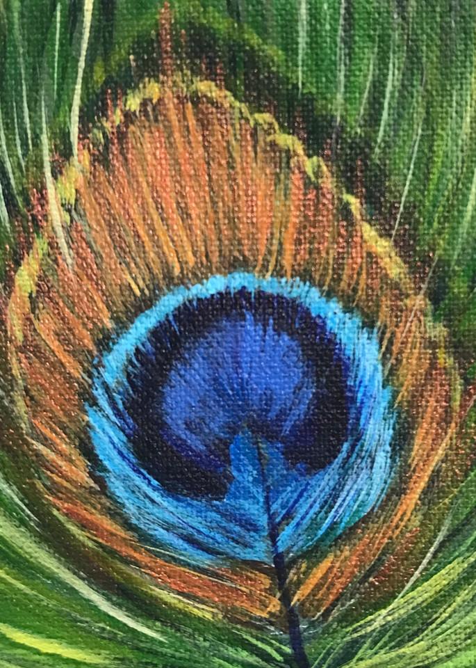 Peacock 1/3 Art | alanajudahart