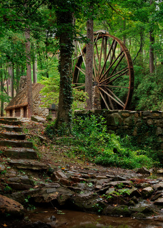 Wooded Mill Photography Art   templeimagery