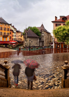 Rainy Afternoon In Annecy Photography Art | templeimagery