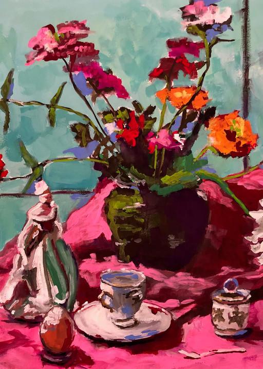 Precious English Memories | Fine Art Painting Print by Rick Osborn