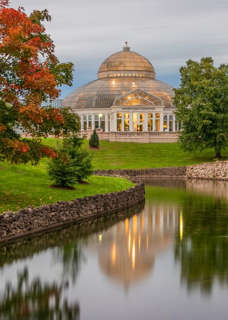 Conservatory Fall - Como Zoo Photos | William Drew Photography