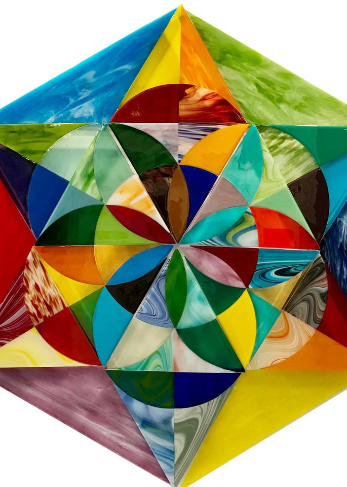 Merkaba Activation White Art | Natalie Ventimiglia Studios