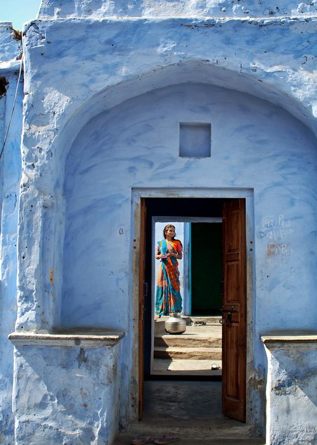 Girl In Doorway Photography Art   templeimagery
