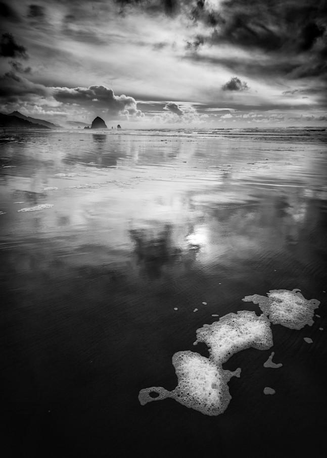 Cannon Beach Seafoam Photography Art | Troy Mason Photography