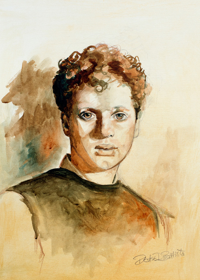 Dylan Thomas Art Print Laugharne