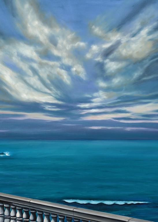 Mediterranean Sea Walk  Art | MMG Art Studio | Fine Art Colorado Gallery