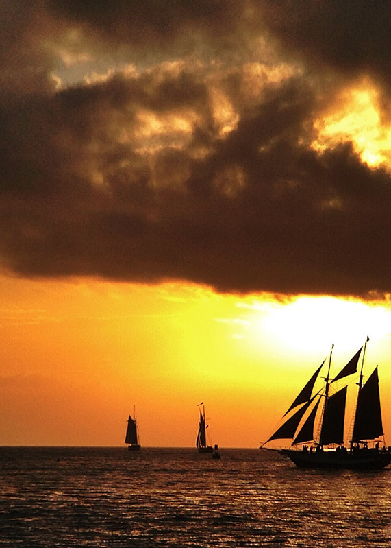 A Schooner Sunset Art | Mark Stall IMAGES
