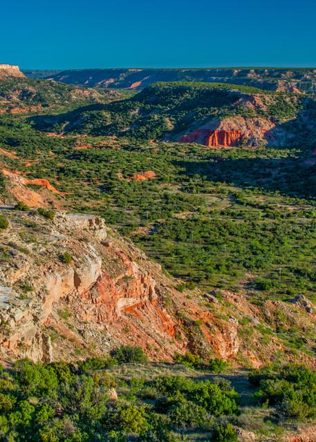 Palo Duro Canyon overlook - Texas photography prints