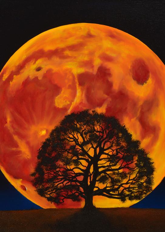 Blood Moon Art | MMG Art Studio | Fine Art Colorado Gallery