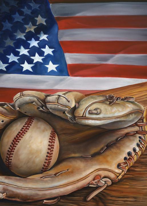 American Pastime (No Cr Logo) Art | MMG Art Studio | Fine Art Colorado Gallery