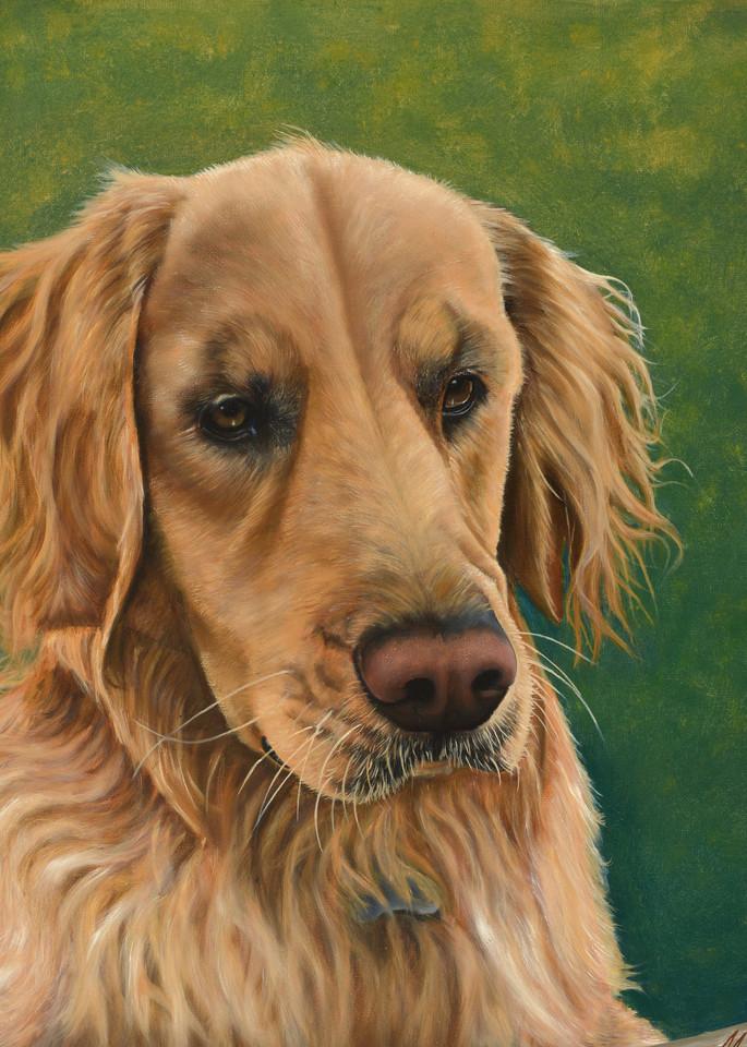 Golden Retriever Art | MMG Art Studio | Fine Art Colorado Gallery