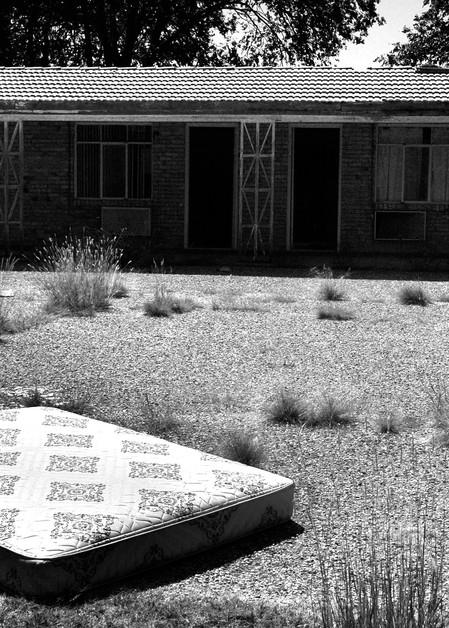 Abandoned Roadside Motel Photography Art   Peter Welch