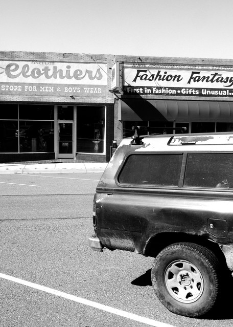 Fashion District,  Santa Rosa Nm Photography Art   Peter Welch