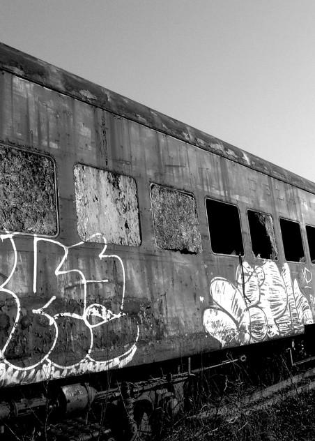 Retired Passenger Train Photography Art   Peter Welch