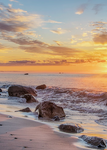 Lucy Vincent Morning Surf Sunrise Art | Michael Blanchard Inspirational Photography - Crossroads Gallery