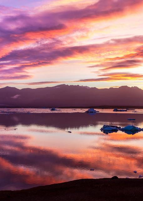 Glacier Lagoon Renascence Photography Art | Derrick Snider Imagery