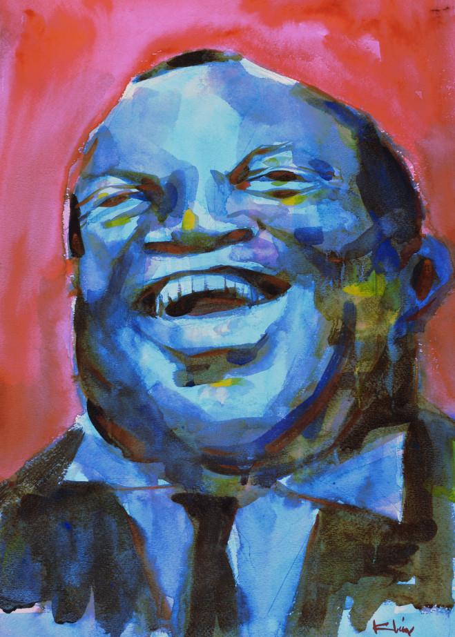 Laughing Blue Art   Steve Kleier Studio
