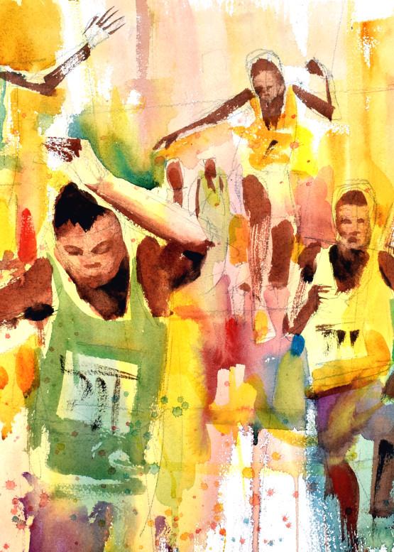 Fast Feet Art | Steve Kleier Studio