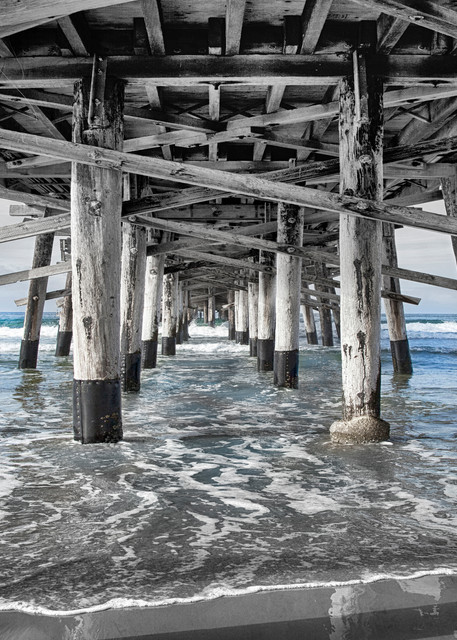 Newport Pier   Horizontal Photography Art | Rosanne Nitti Fine Arts