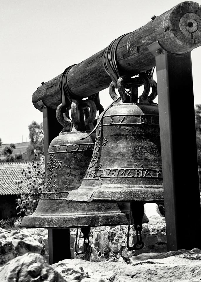 Mission San Juan Capistrano Bells Photography Art | Rosanne Nitti Fine Arts