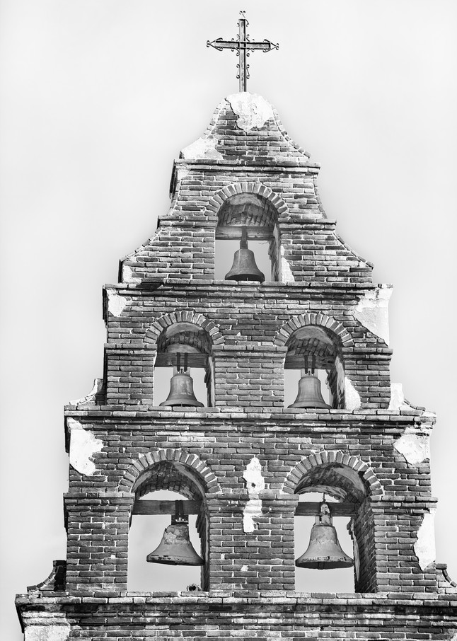 M Ission San Miguel Archangel Bell Tower Photography Art | Rosanne Nitti Fine Arts