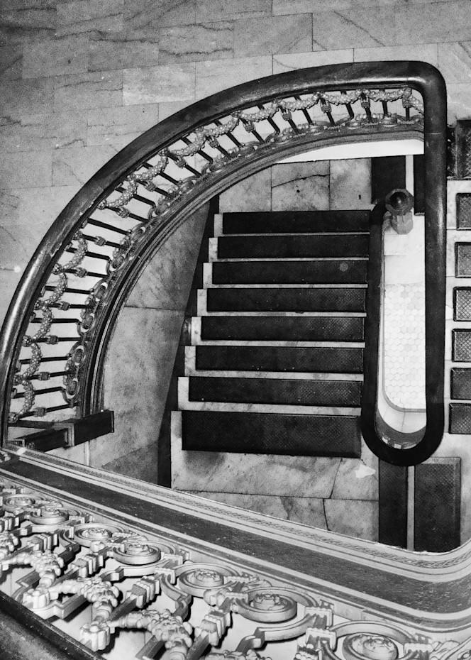 Hotel Alexandria Stairway Photography Art | Rosanne Nitti Fine Arts