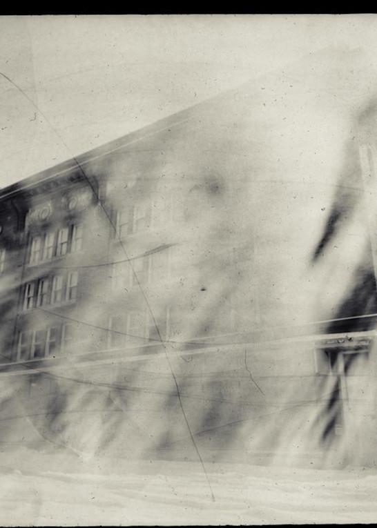 Sears Building, Exterior (Paper Negative, 8x10 Pinhole Camera From A Sheet Of Cardboard, Lens: Broken Window Glass) Art   Paper & Ink Artists