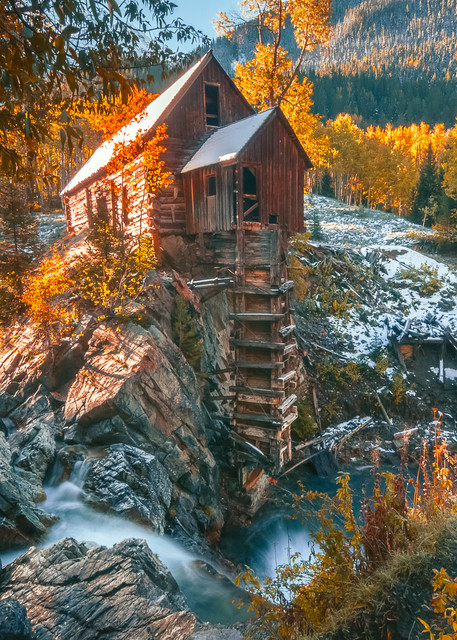 Crystal Mill Fall New Photography Art | Derrick Snider Imagery